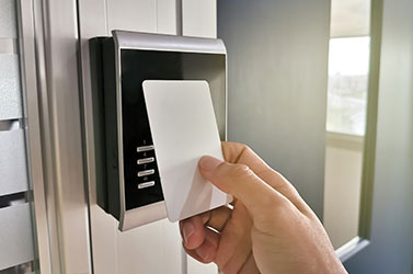Comercial property keyless entry systems